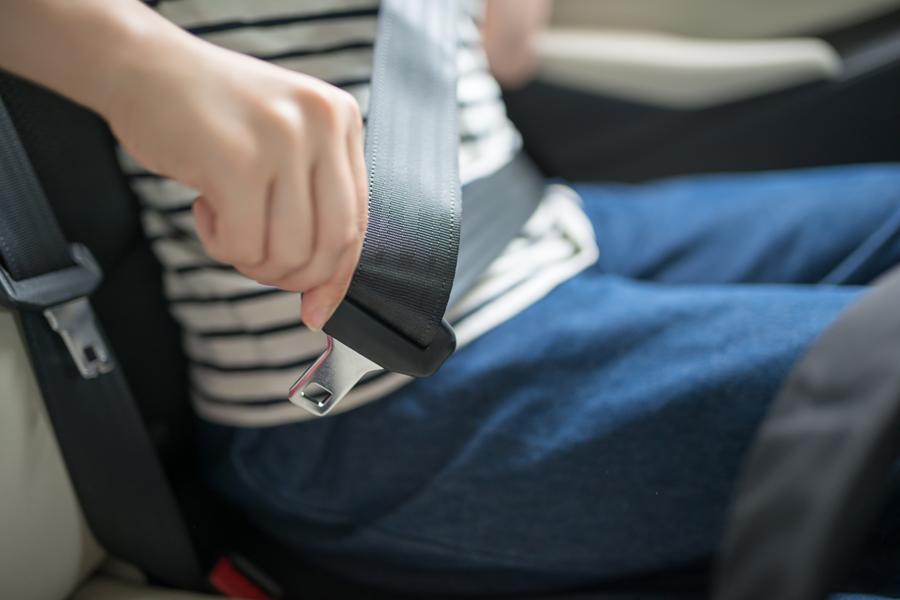 シートベルト着用の重要性